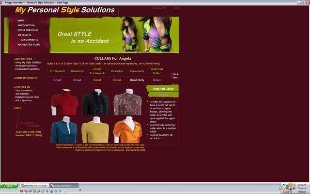 Fashion Styling Online Profile 1