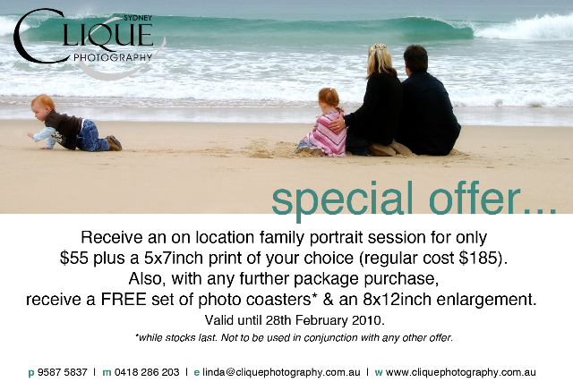 Special $55 offer