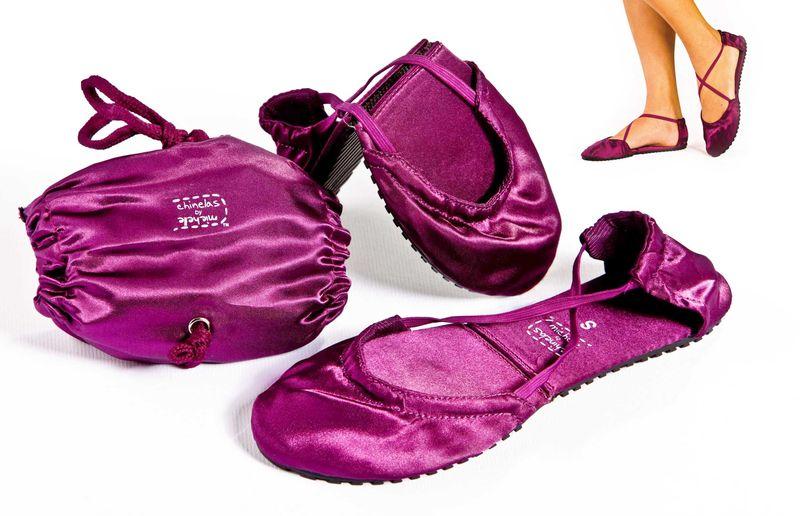 Purple-shoe-set